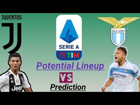 Juventus Vs Lazio Match Preview…..
