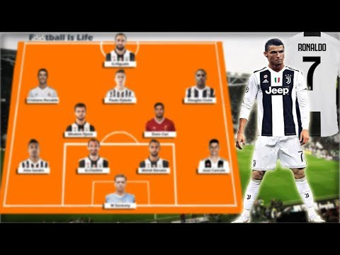 Juventus Potential Lineup 2018/2019 With Cristiano Ronaldo , Dybala , Emre Can