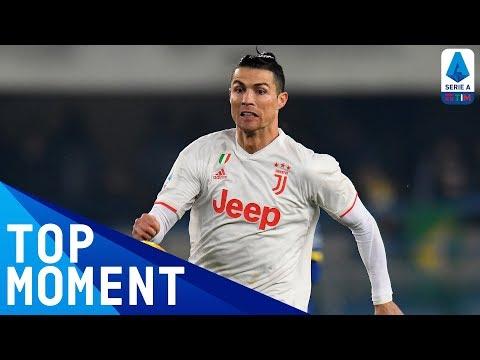 Ronaldo Scores For The 10th Consecutive Game | Hellas Verona 2-1 Juventus | Top Moment | Serie A TIM