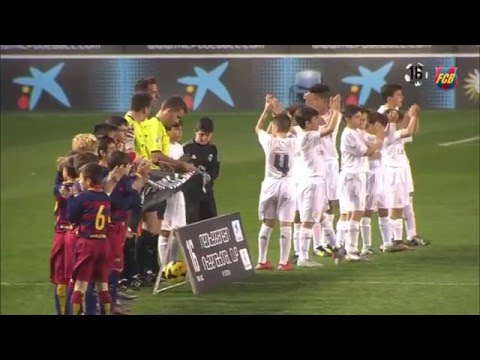 FC Barcelona Alevín A gana el MIC 2016 al Real Madrid en la final (2-0)