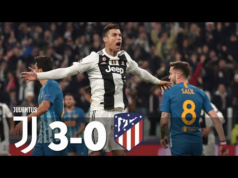 Juventus Vs Atletico Madrid 3-0 All Goals & Highlights 2019