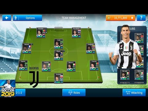 How to create JUVENTUS in Dream League Soccer 2019. All Players 100 | Android [No Root & No Mod Apk]