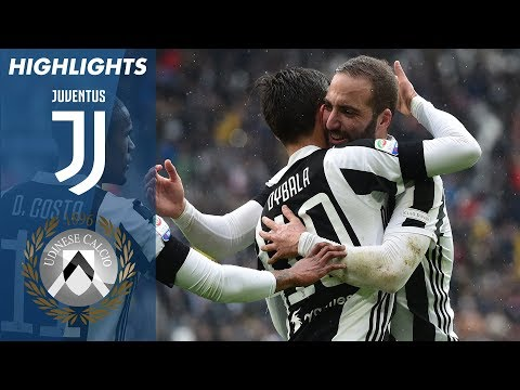 Juventus 2-0 Udinese | Highlights | Giornata 28 | Serie A TIM 2017/18