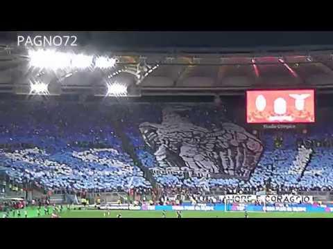 JUVENTUS Vs Lazio    Choreo Lazio Curva Nord HDR