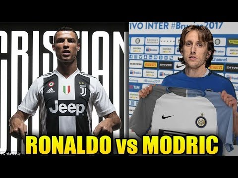 Luka Modric (Inter Milan) vs Cristiano Ronaldo (Juventus) ? Latest TRANSFER News