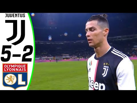 Juventus vs Lyon 5-2 – HIGHLIGHTS and ALL GOALS – RÉSUMÉN Y GOLES ( Last Matches ) HD