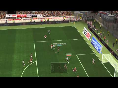 PES 2014 – Juventus vs Milan Gameplay PC