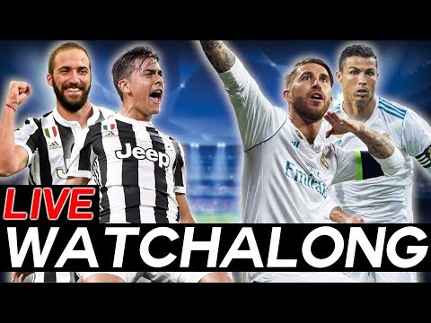 Juventus vs Real Madrid – Champions League Quarter-Finals Leg 1 – Live WATCHALONG Stream