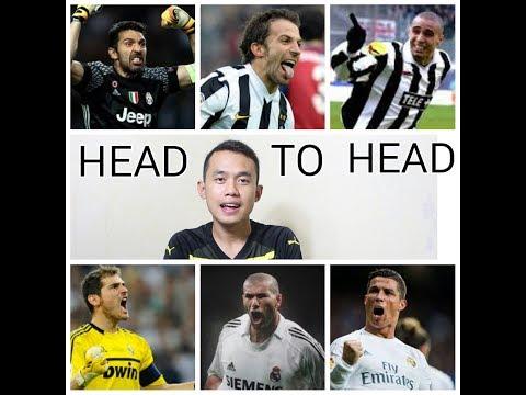 DISERTAI CUPLIKAN GOL // HEAD TO HEAD JUVENTUS VS REAL MADRID 11 PERTANDINGAN TERAKHIR DI UCL