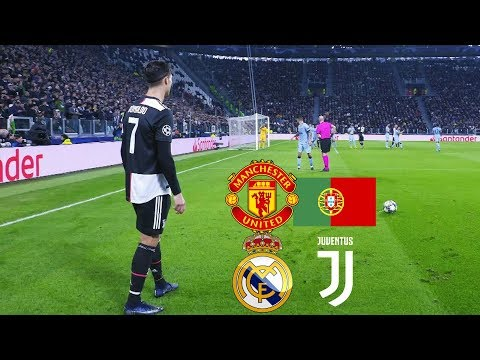 Cristiano Ronaldo First Hat-Trick For Juventus, Real Madrid, Man Utd, Portugal