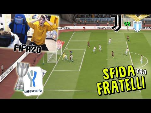 JUVENTUS vs LAZIO – FINALE di SUPERCOPPA ITALIANA! – Fifa 20
