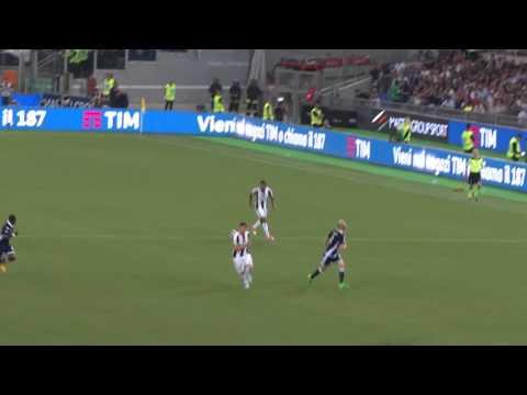 FINALE DI COPPA ITALIA 2017 JUVE – LAZIO 2 A 0 GOL DI DANI ALVES DALLA CURVA SUD