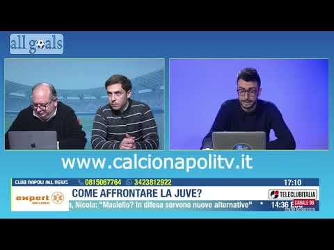 verso Napoli-Juventus Club Napoli All News 24/1/20 parte 2/2