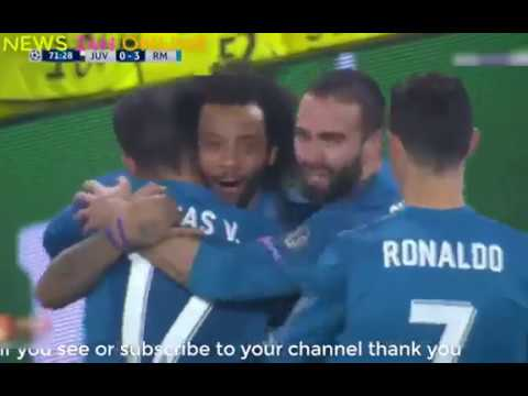 NEWS 24H ONLINE  Juventus vs Real Madrid 0-3 Resumen Highlights UCL 2018