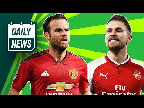 Sergio Ramos stokes Real Madrid fire, Juan Mata to Juventus + transfers! ► Onefootball Daily News