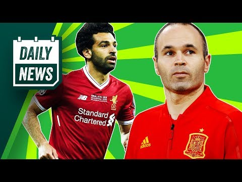 TRANSFERS and WORLD CUP NEWS: Cristiano Ronaldo to Juventus, Salah signs + legends retire!