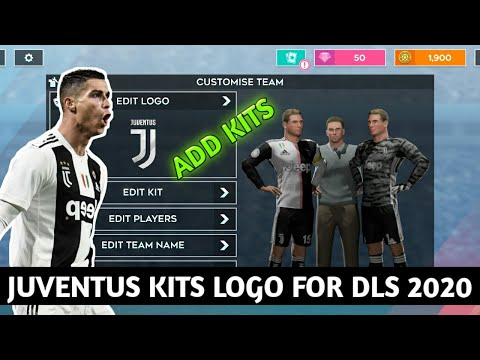Juventus 2019/20 Kits for DLS 2020