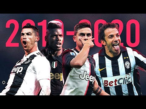 Juventus • Best Goals of the Decade • 2010-2020
