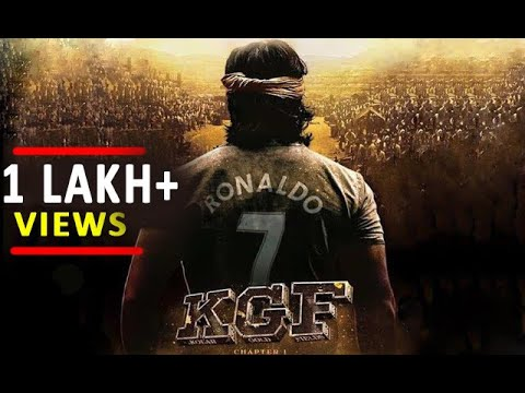 KGF Movie Trailer Cristiano Ronaldo Version | Cr7 | Manchester United | Real Madrid | Juventus