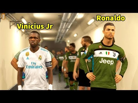 PES 2018 | REAL MADRID VS JUVENTUS | Full Match and Amazing Goals | Gameplay PC