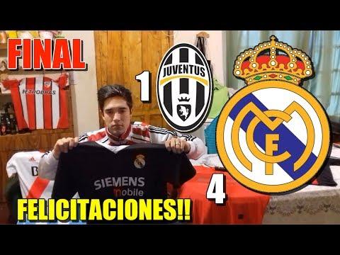 Juventus vs Real Madrid (1-4) – Reacciones de un Hincha – Final en Cardiff UEFA Champions League