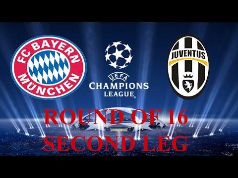 UEFA Champions League Match Prediction | Bayern Munich v Juventus | Second-leg Round of 16