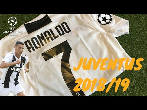 NEW DHgate JUVENTUS 2018/19 UCL Ronaldo Jersey REVIEW! FOOTY R&T