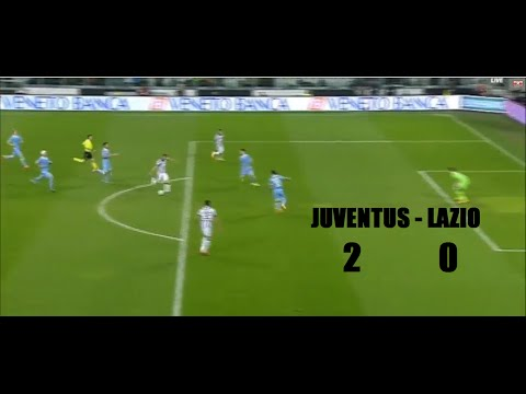 JUVENTUS – Lazio 2-0  LA CAPOLISTA SE NE VAAAA!!!