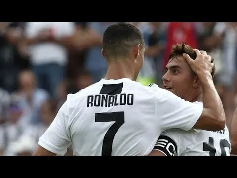 Debut de Cristiano Ronaldo en Juventus – Jugadas & Gol 2018