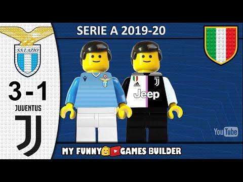 Lazio Juventus 3-1 • LEGO Serie A 2019/20 • Sintesi 07/12/2019 • All Goal Highlights Lego Football