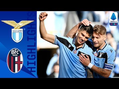 Lazio 2-0 Bologna | Lazio Tops the League for the First Time in 20 Years! | Serie A TIM