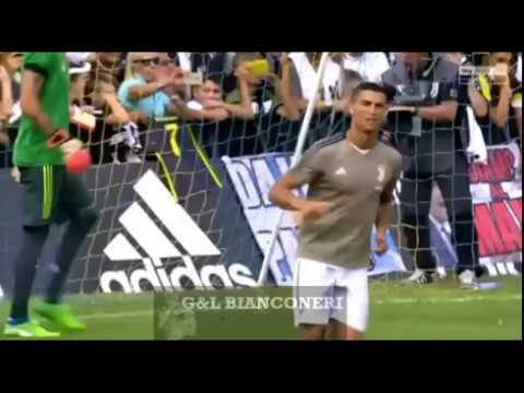 Juve A Juve B Villar Perosa: Ronaldo first goal and skills for Juventus