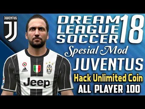 Dream League Soccer 2018 Mod Juventus Hack Unlimited Money All Player 100