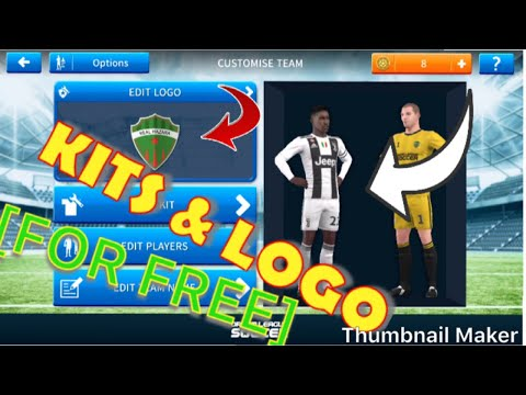 How To CHANGE/Download Kits & Logos in Dream League Soccer 2019 DLS 19  [FOR FREE] With EASY WAY