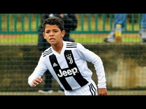 Cristiano Ronaldo Jr 🎥 Juventus U9 Destroying Players