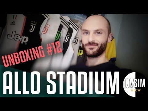La maglia che indosserò all'Allianz Stadium ||| Avsim Unboxing #12 speciale Juventus-Atletico Madrid