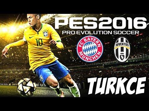 PES 2016 Türkçe Oynanış | Bayern München – Juventus | Ilk Bakış | Inceleme | Ps 4