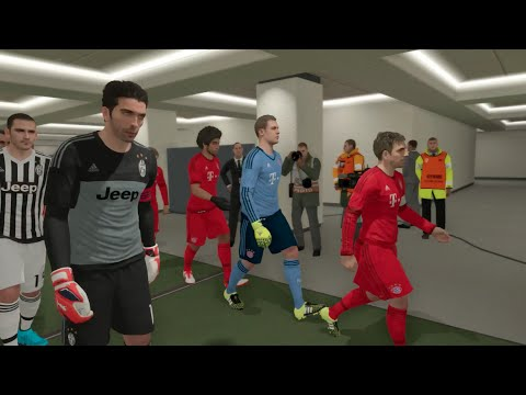 PES 2016 Demo (Xbox One) FC Bayern Munchen vs Juventus Gameplay