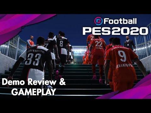 eFootball PES 2020 | Demo Review & Gameplay | Juventus vs. Bayern Munich