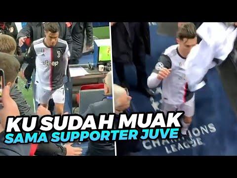 MENYEDIHKAN 😱 Lihat Detik Detik Ronaldo Menginjak Jersey Juventus Setelah Pertandingan Usai
