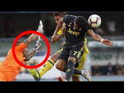 Cristiano Ronaldo – Horror-Verletzung bei Juventus Debut !