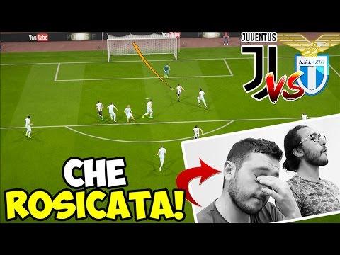 ROSICATA INFAME! JUVENTUS-LAZIO [FIFA 17 ITA]