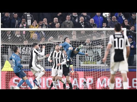 Cristiano Ronaldo discusses THAT Real Madrid bicycle kick against Juventus – WATCH