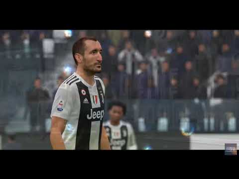 Serie A Round 20 | Game Highlights | Juventus VS Chievo Verona | 1st Half | FIFA 19
