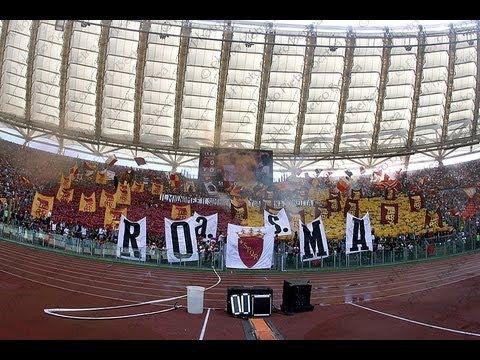 ROMA lazio 2-0  videotifo