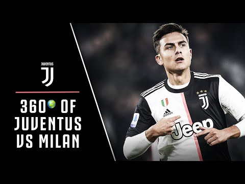 HIGHLIGHTS | WATCH 🌍360° of Juventus v Milan!