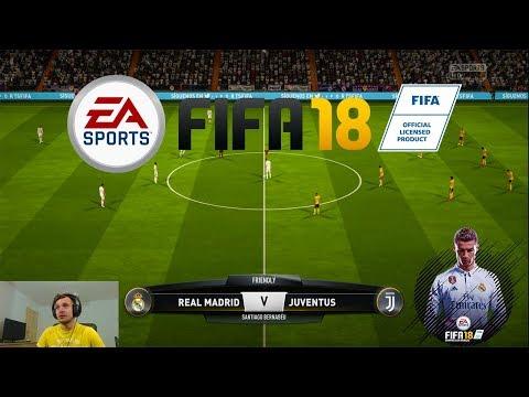 FIFA 18 Primul Meci – Real Madrid vs Juventus Torino Reeditam Finala Uefa Champions League
