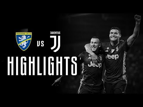 HIGHLIGHTS: Frosinone vs Juventus – 0-2 – Serie A – 23.09.2018 | CR7's first away goal