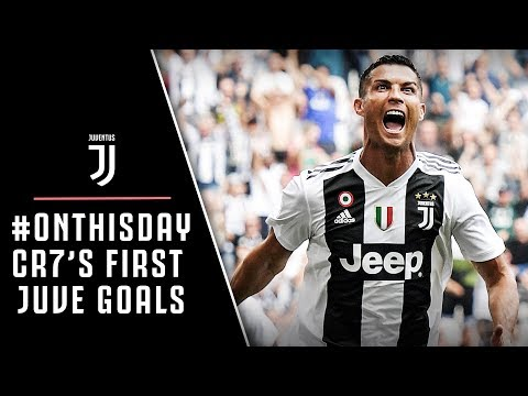 #ONTHISDAY | CRISTIANO RONALDO'S FIRST GOALS FOR JUVENTUS!