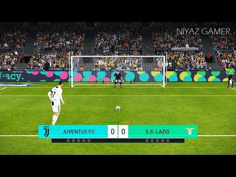 JUVENTUS F.C. vs S.S. LAZIO | Penalty Shootout | PES 2018 Gameplay PC